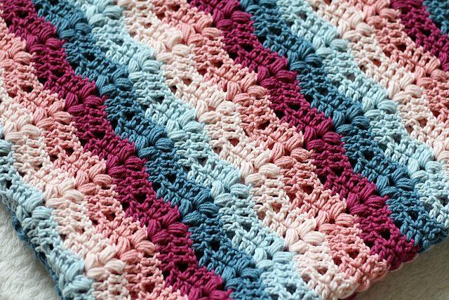 Ruby Baby Blanket Free Crochet Pattern | Free Crochet Patterns ...