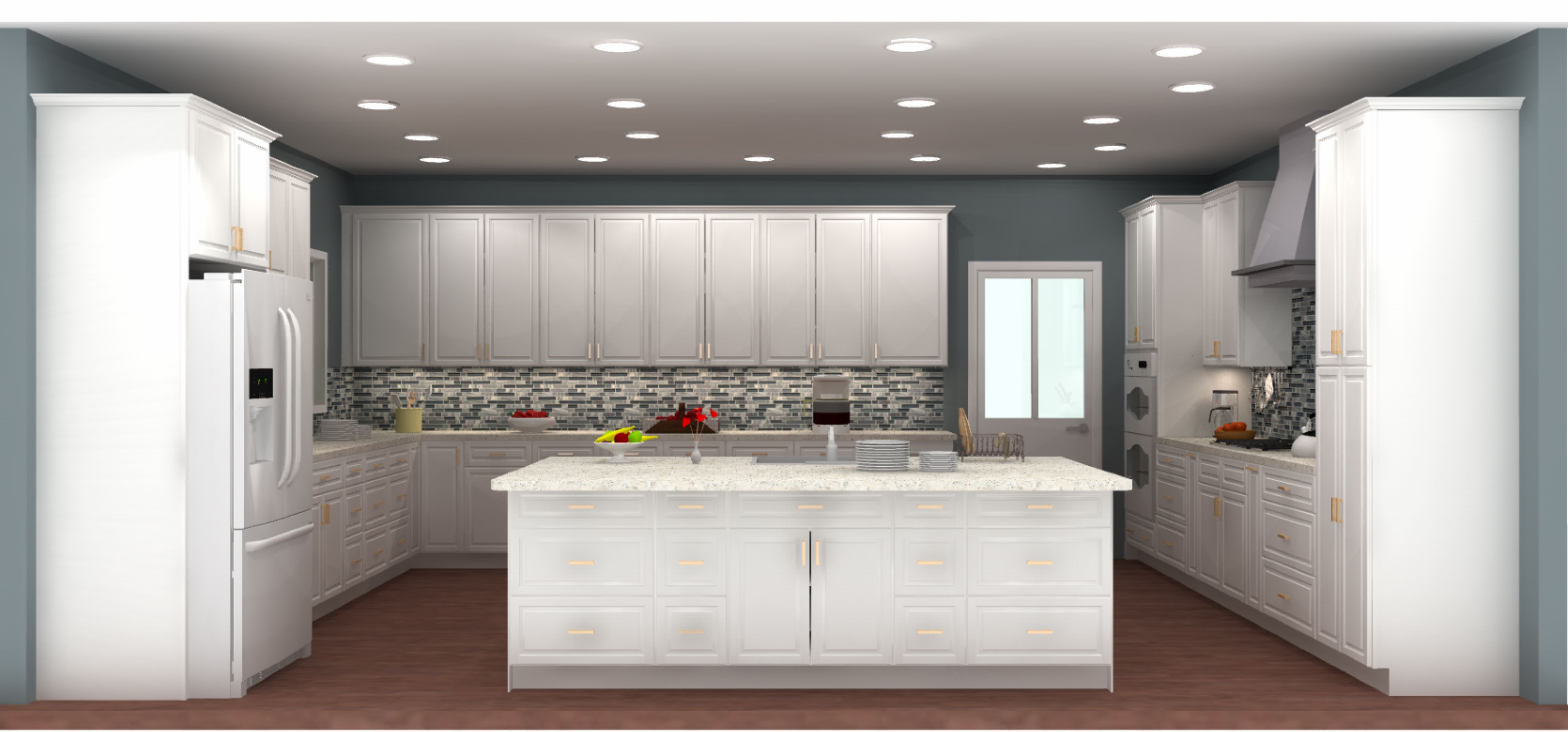 Get a FREE 3D kitchen design at Lily Ann Visit