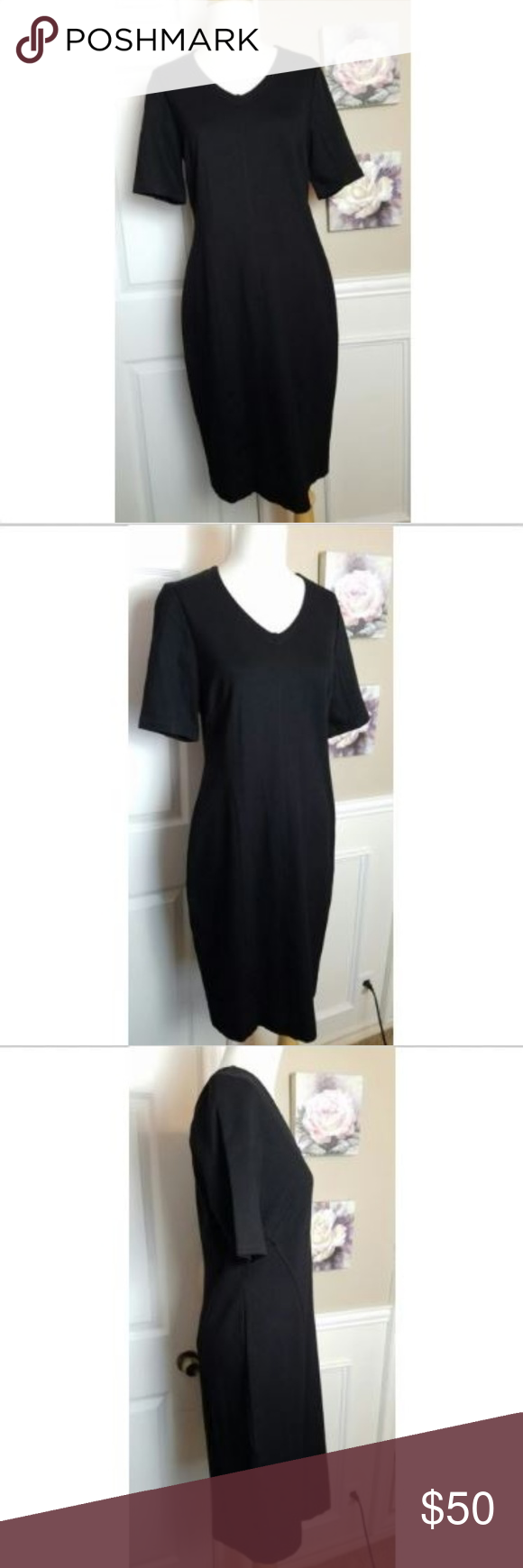 434e5a4a91a Cabi Claire Black Dress 3101 Size 6 New with Tags CABI CLAIRE DRESS STYLE  3101 SIZE 6 NWT PLEASE SEE ALL PICTURES SIZE CHART XXS (00) XS (0 2) S  (4 6) M ...