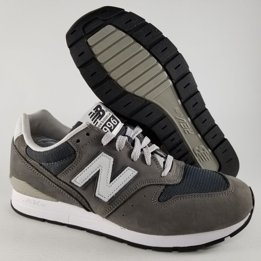 new balance 996 grey size 8