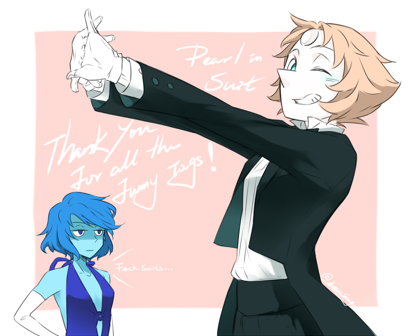 Pearl and lapis. Steven universe