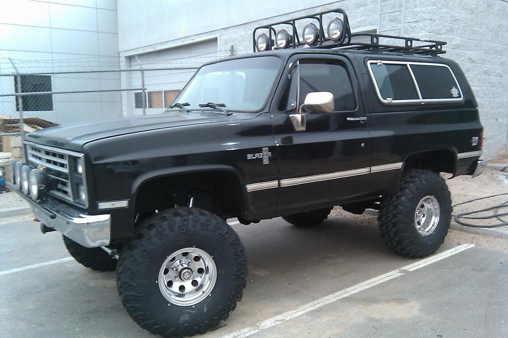 6 Lift 37 Iroks Trucks Chevrolet Blazer Lifted Trucks