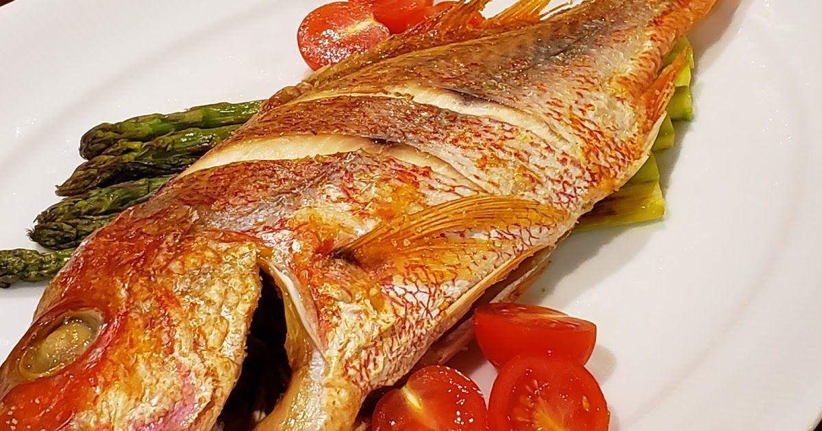 オーブン 鯛 塩焼き