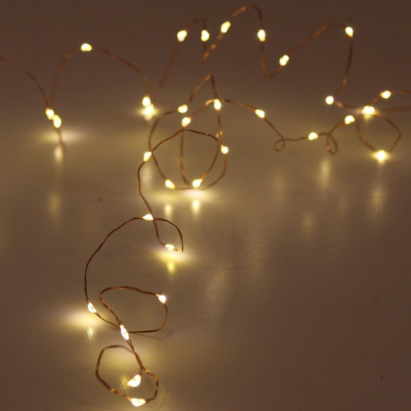 Pin Na Lampki Dekoracyjne Kule Cotton Ball Lights