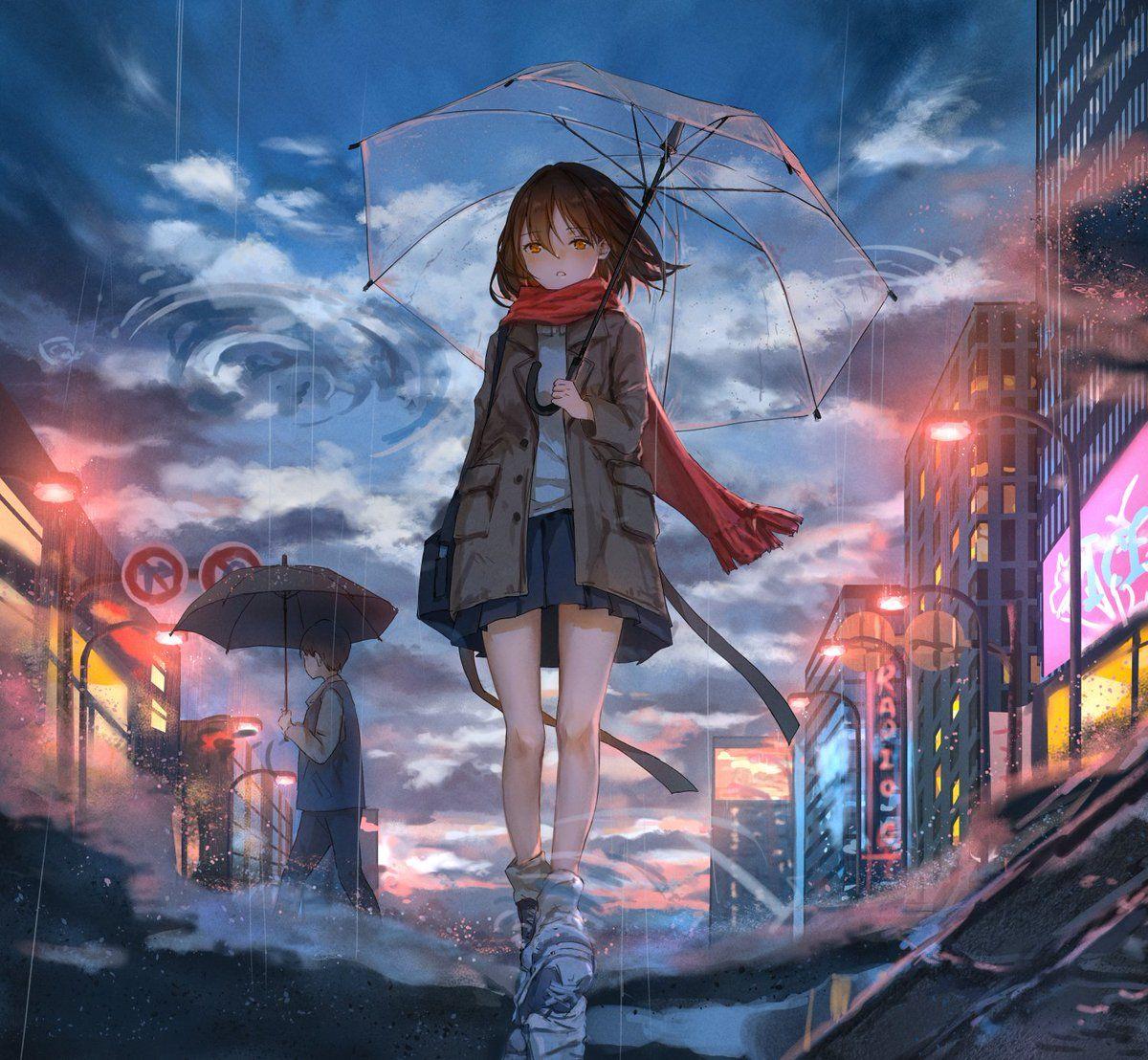 Pin On Love Cute anime portrait wallpaper