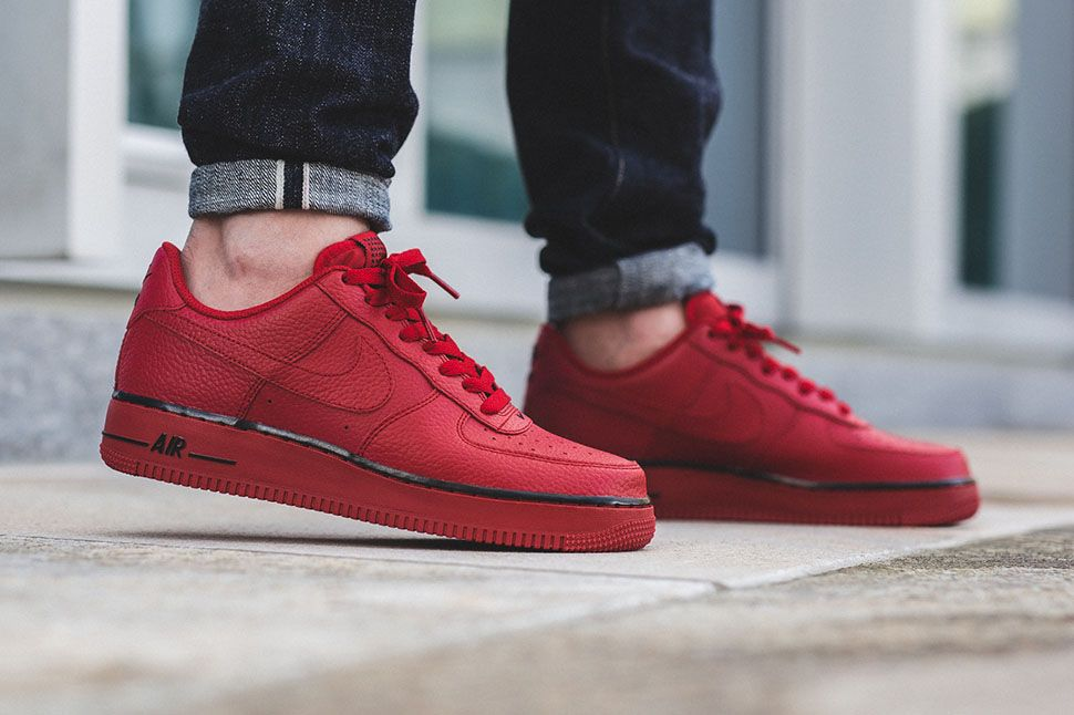 "af8769bfaf32 Nike Air Force 1 Low ""Gym Red Black†(Star Pack"