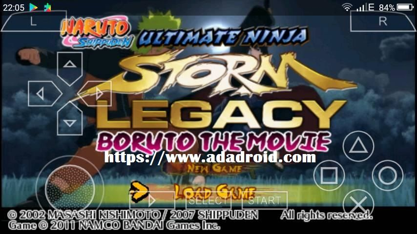 naruto ultimate ninja storm 4 patch download