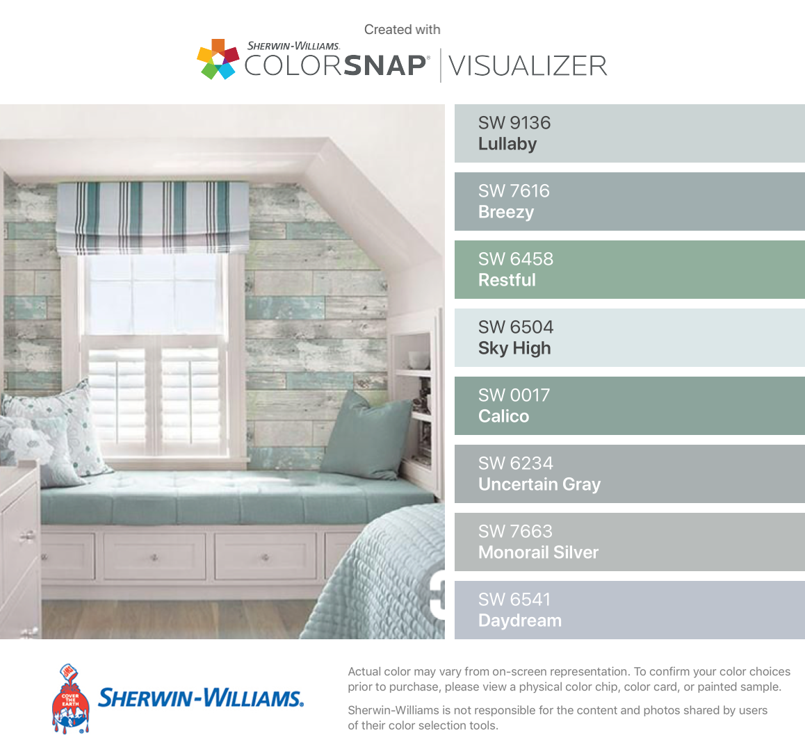 Beachwood Peel And Stick Wallpaper Matches Sherwin Williams Lullab Bathroom Paint Colors Sherwin Williams Bathroom Paint Colors Sherwin Williams Paint Colors