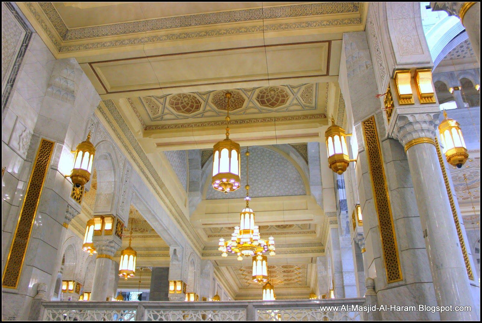Subhanallah Indahnya Dekorasi Interior Masjidil Haram