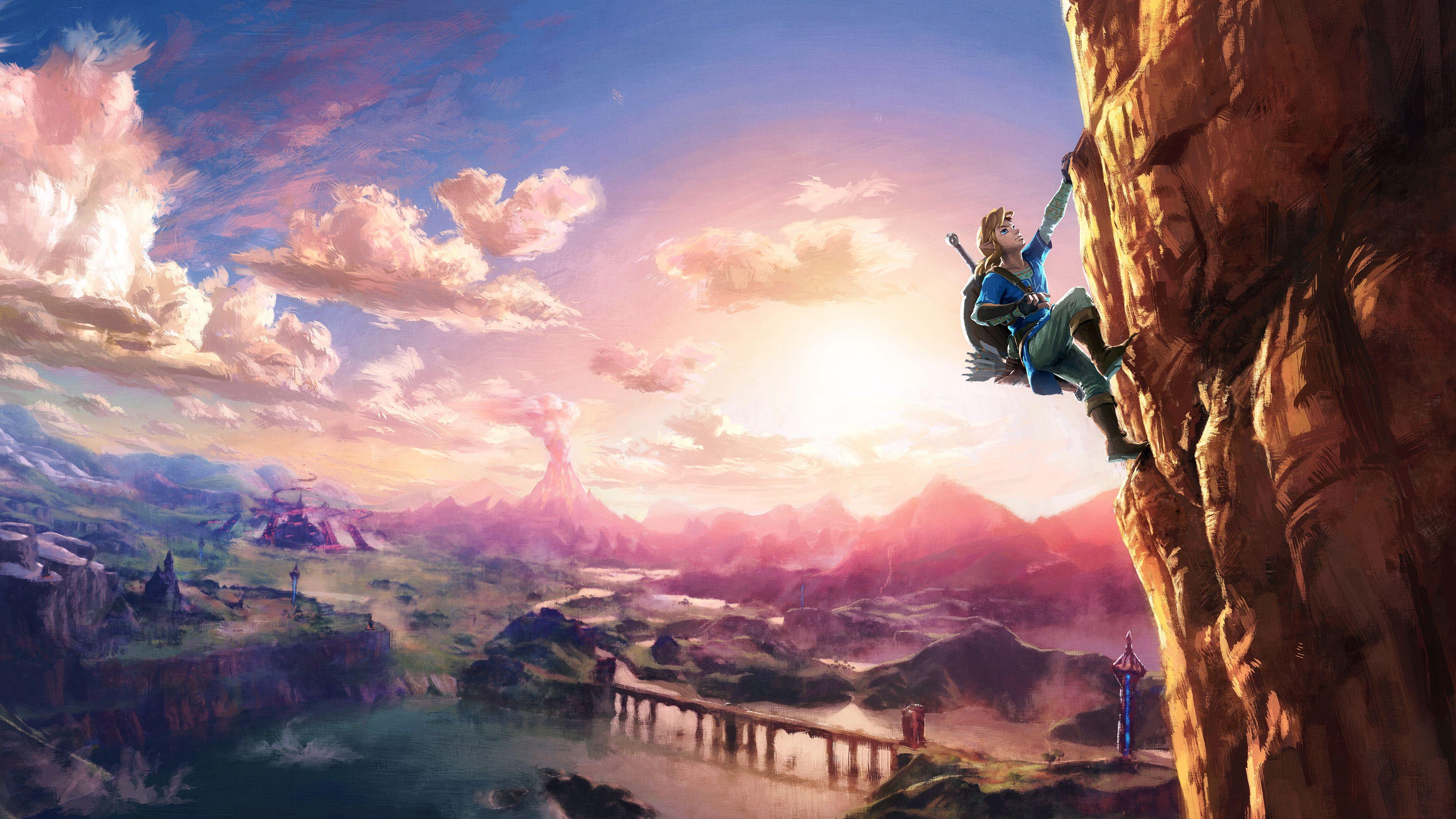 The Legend Of Zelda Breath Of The Wild Wallpaper Pack Zelda Wii