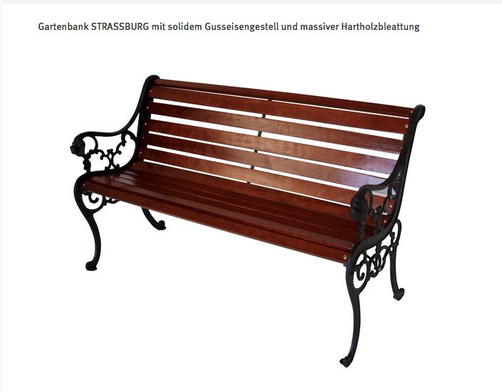 Gartenbank Gusseisen Strassburg In Huttwilen Kaufen Bei Ricardo Ch Gartenbank Metall Holz Gartenbank Metall Gartenmobel Holz