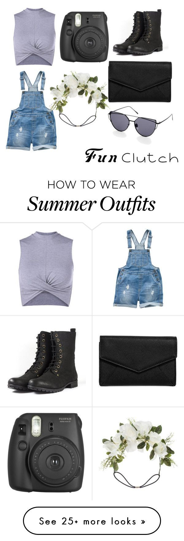 "Collection Of Summer Styles ""Summer Outfit"" by person12346 on Polyvore featuring Fat Face, LULUS, Fujifilm and Orelia - #Outfits"