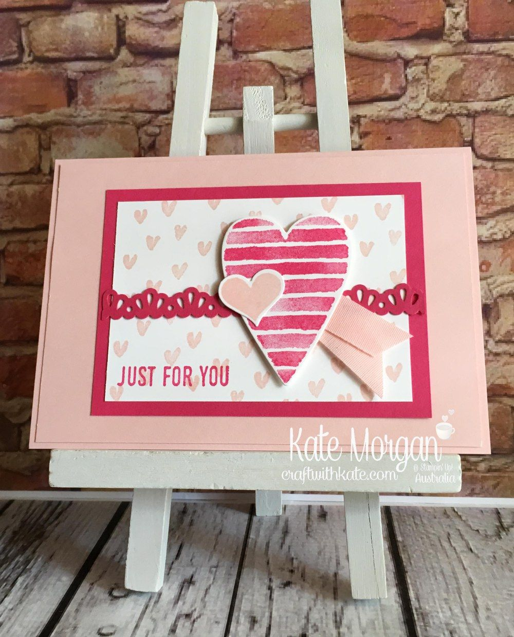 Heart Of Happiness Heart Happiness Heart Stampin Up Valentines