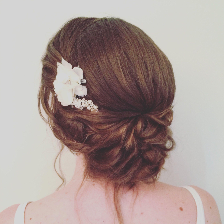 katie-jane whitlock soft bridal hair, low updo, bohemian hair