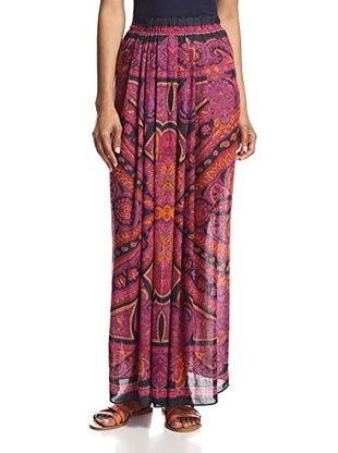 Theodora & Callum Women's Cypress Maxi Skirt/Tube Dress (Fuchsia Multi)