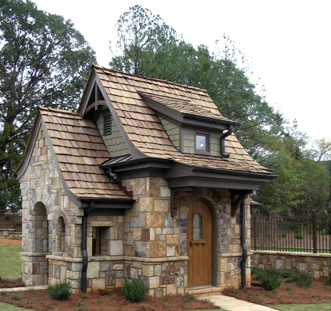 Tiny Stone Cottage  Where the Hearth Is in 2019  Stone