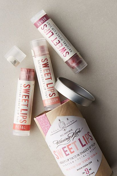 Waxing Kara Lip Trio #anthropologie