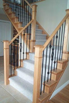 Tread End Caps Stairway Railings Stair Handrail Staircase Railings Stairs Stair Stair Builders Wood Balusters Stairs Stairs Design Stair Railing