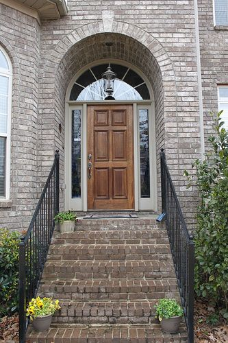 Polishing Off The Old Front Door