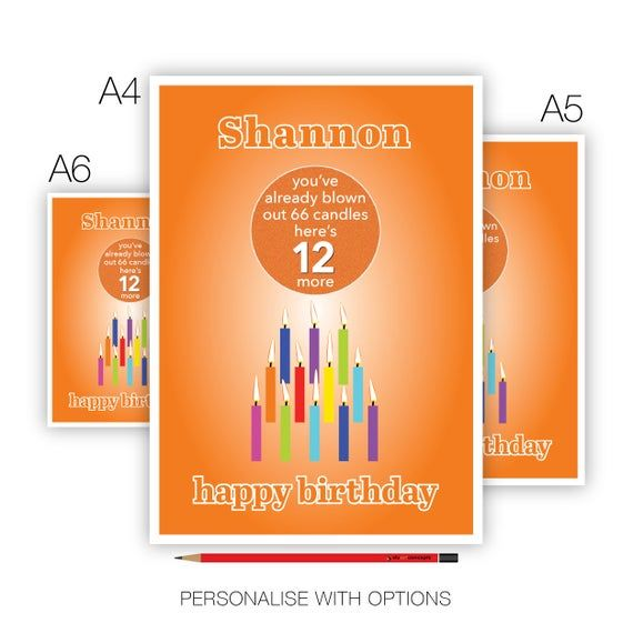 Funny 12th Birthday Card For Boy For Girl Edit Name 12 Bday