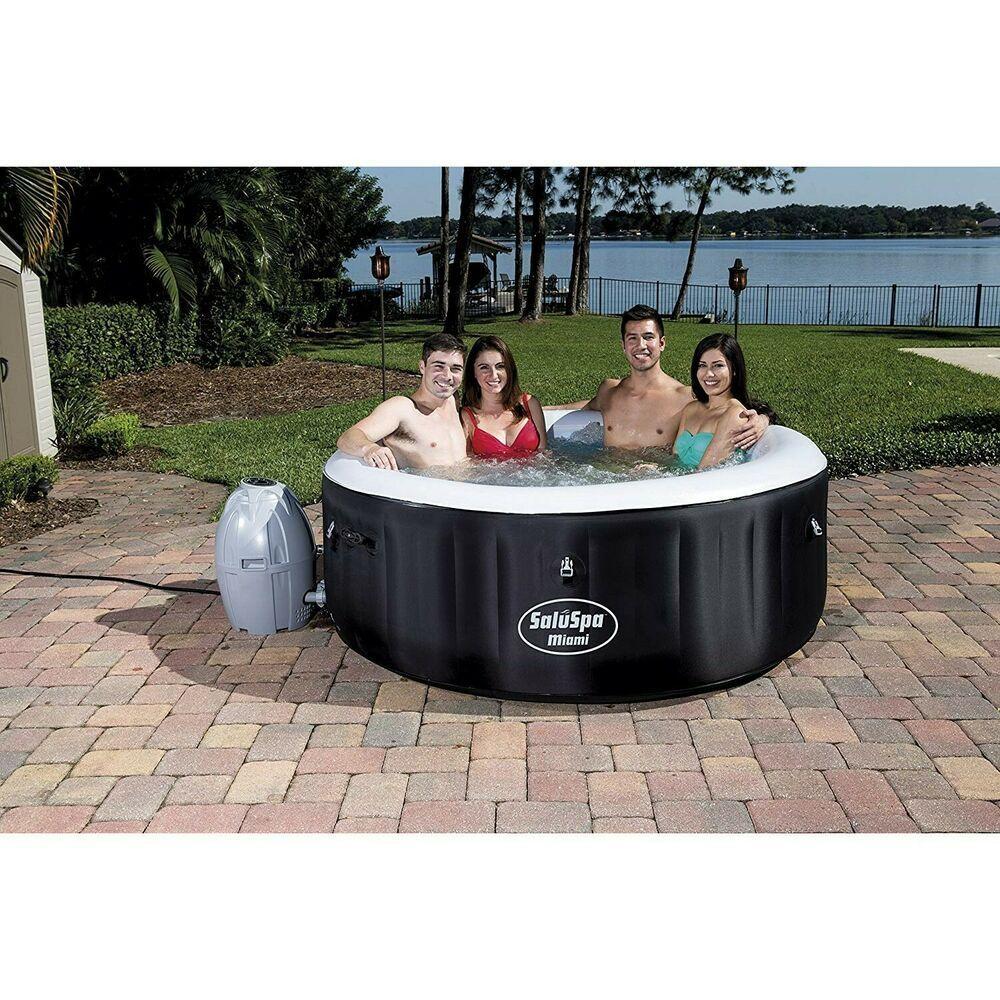 Best Portable Hot Tub Blow Up Inflatable Spa Jacuzzi Backyard Swim Pool Massage Spa Hottub Massage Hot Tub Inflatable Hot Tubs Spa Hot Tubs