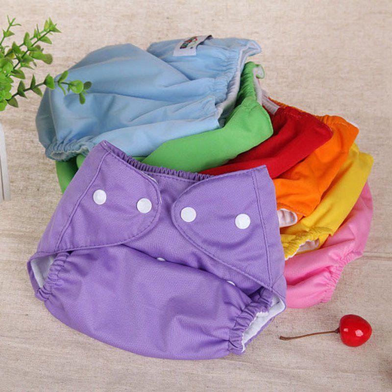 Neonato pannolini per bambini pannolini riutilizzabili formazione mutanda bambini cambia cotone formato libero pannolini lavabili