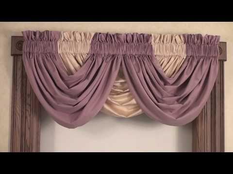 Waterfall Valance Recetas que cocinar Pinterest Entubados - cortinas azules