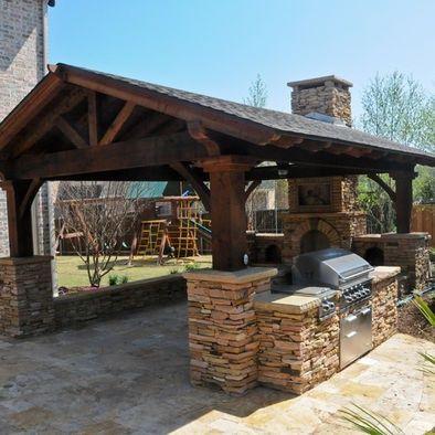 Outdoor pavilion ideas penterest pavilion design for Outdoor kitchen gazebo design