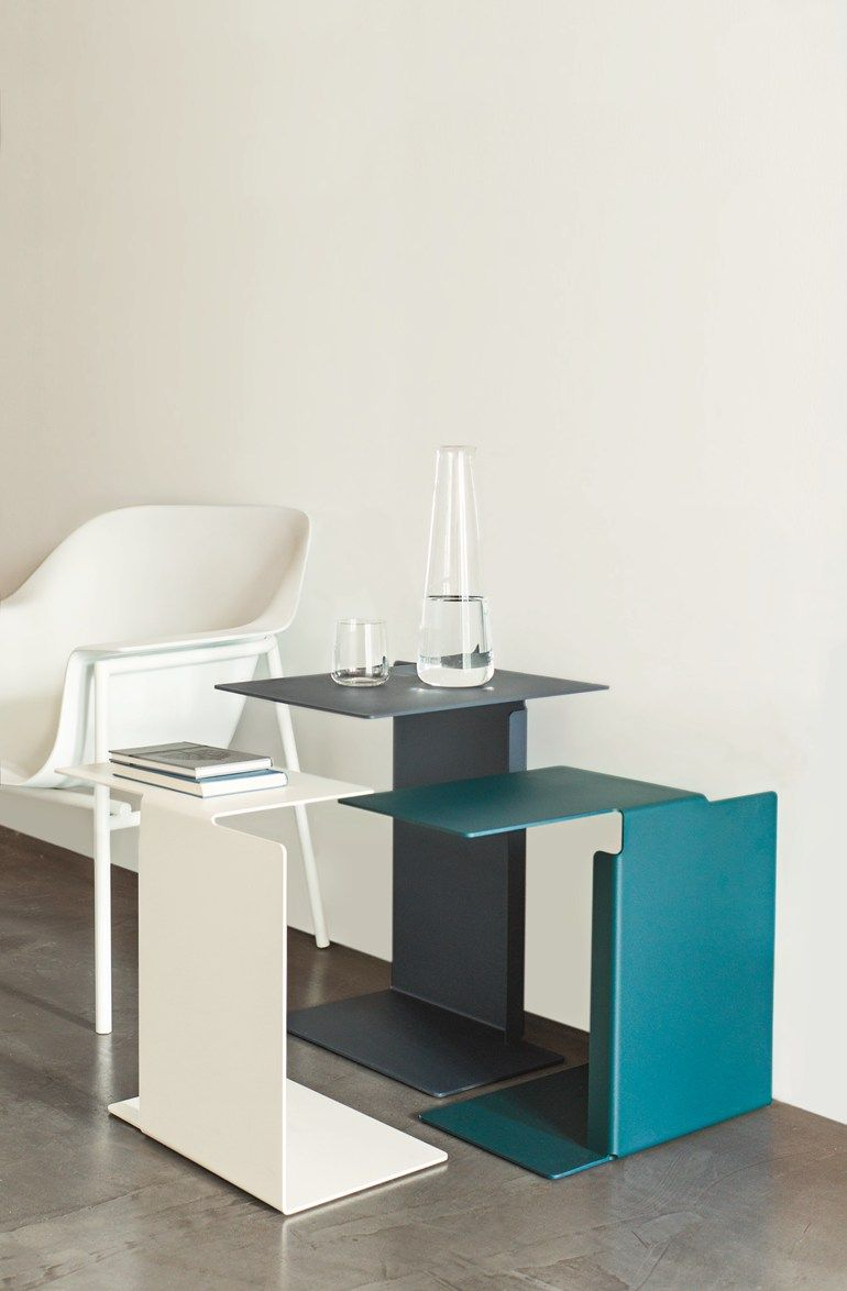 Steel coffee #table DIANA B by ClassiCon | #design Konstantin ...