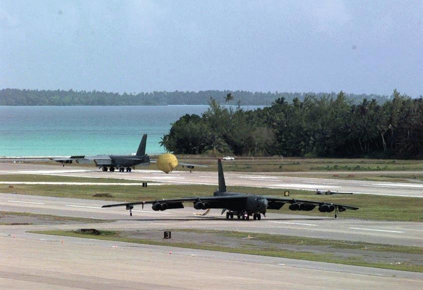 Diego Garcia AFB | B 52 stratofortress, Strategic air command