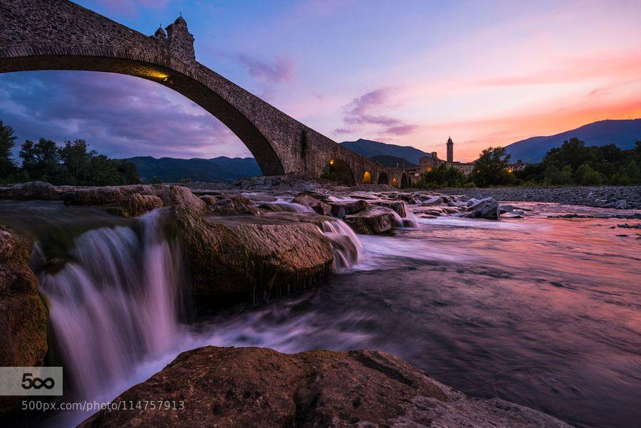 Il Ponte Gobbo by Marco_Battini. Please Like http://fb.me/go4photos and Follow @go4fotos Thank You. :-)