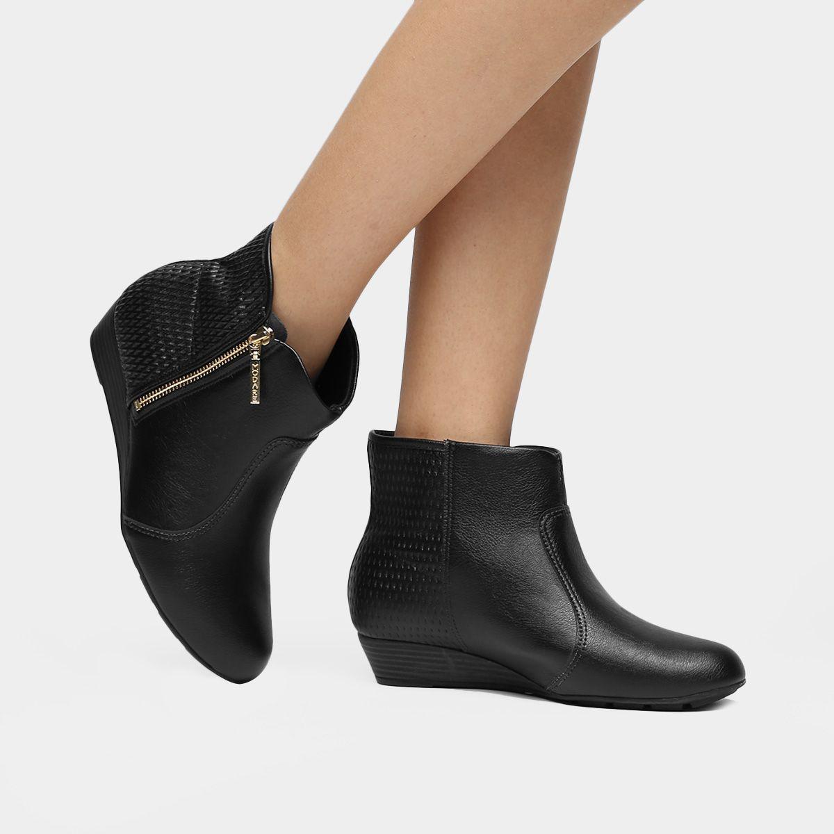 6e2ece2e0 Compre Bota Modare Anabela Café na Zattini a nova loja de moda online da  Netshoes. Encontre Sapatos