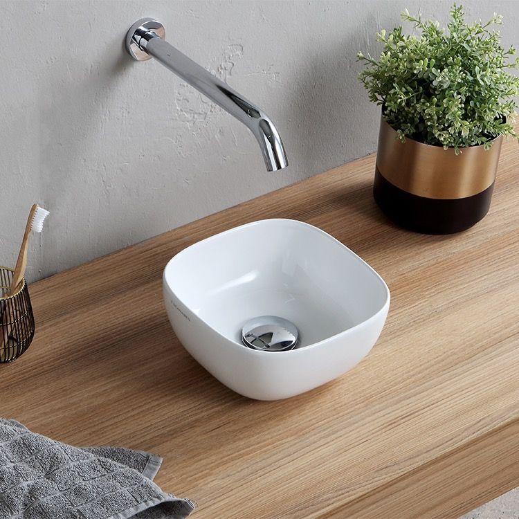 Small Round Ceramic Vessel Sink Small Bathroom Sinks Sink Ceramic Vessel