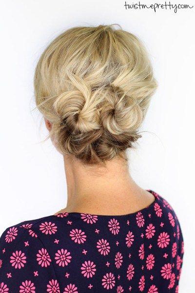 Gorgeous Holiday Hair Ideas From Pinterest Hair Ideas - Bun hairstyle definition