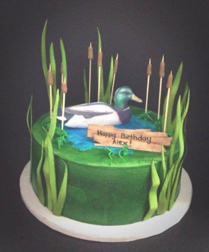 Mallard Duck Cake custom cakes wedding cakes kiddies cakes