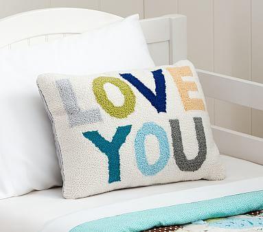 Love You Decorative Sham Pbkids Kids Throw Pillows