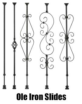 Carolina Stair Supply - Stair Parts - Wooden Stair Systems - Baluster Replacements - Ole Iron Slides