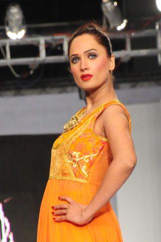 Pakistani fashion model Rubab
