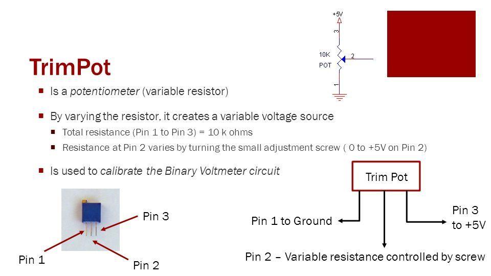 image result for trimpot pin layout life hacks pinterest life rh pinterest com trimpot circuit board trim pot wiring diagram