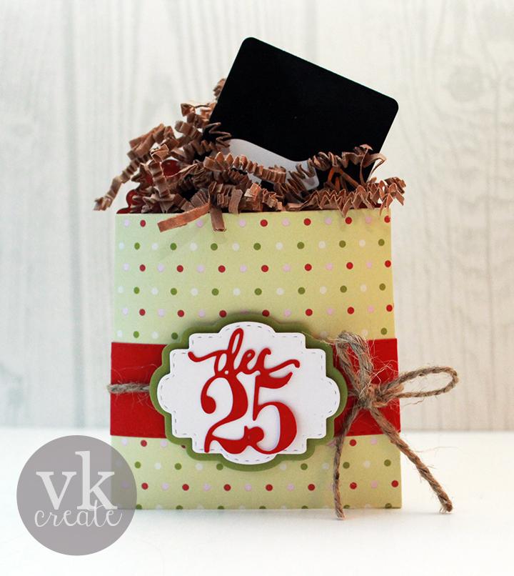 VK Create: MCT 47th Edition Sneak Peek: Dec 25th Gift Card