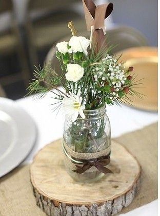 Centerpiece Help Rustic Chic Weddingbee Rustic Wedding Centerpieces Rustic Chic Rustic Wedding