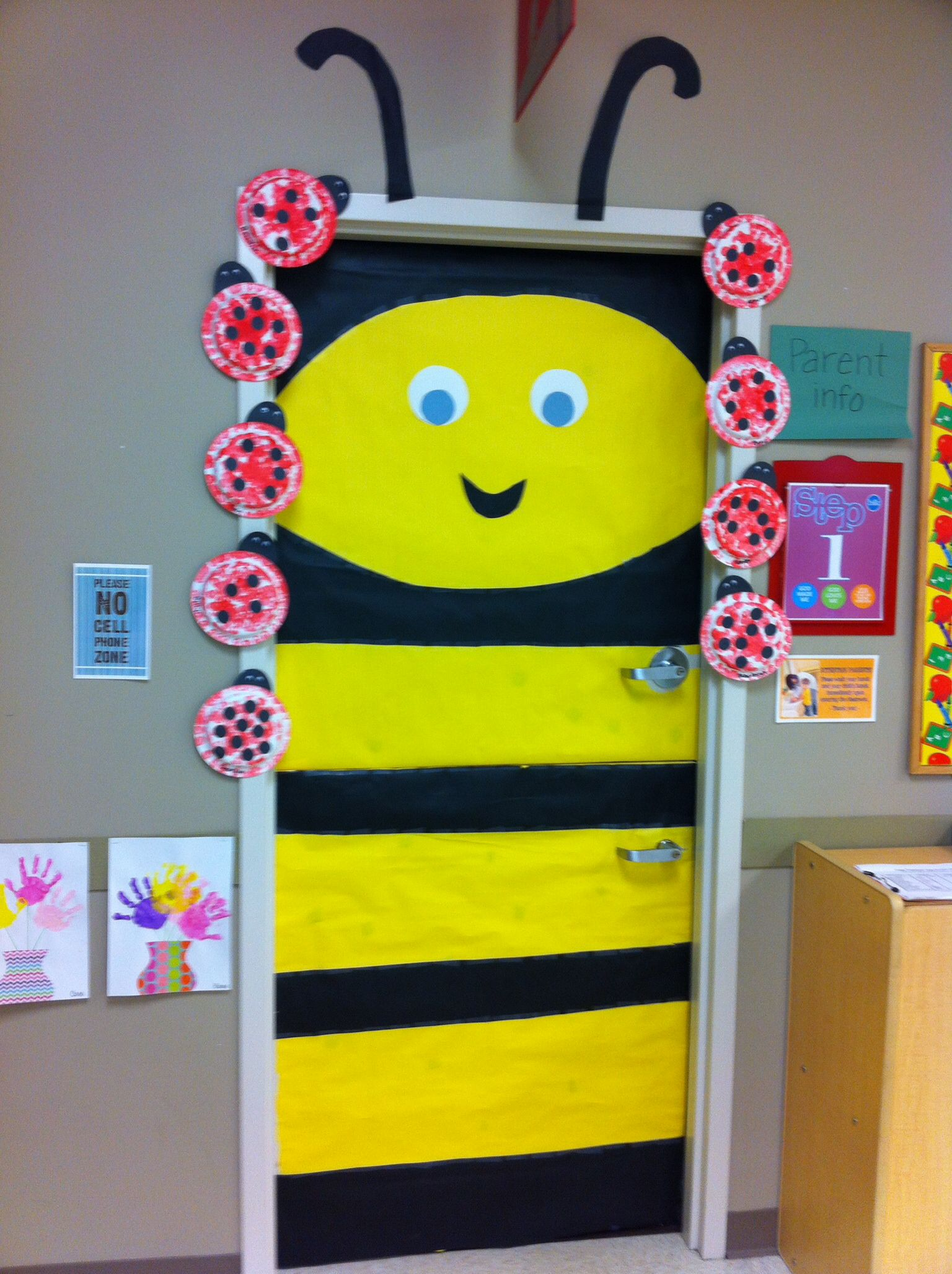 Weird animals vbs door decor. bumble bee. | VBS | Pinterest ...