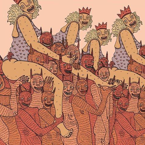 Αποτέλεσμα εικόνας για art kolaz demon erotica