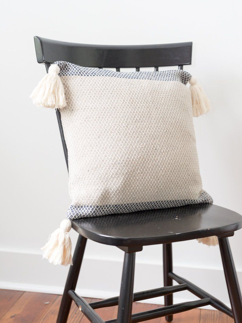 Adding Color To Neutral Living Room Pillows