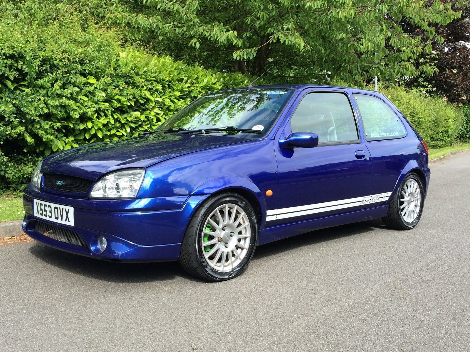 this ford fiesta mk5 zetec s with 1 7 racing puma engine. Black Bedroom Furniture Sets. Home Design Ideas