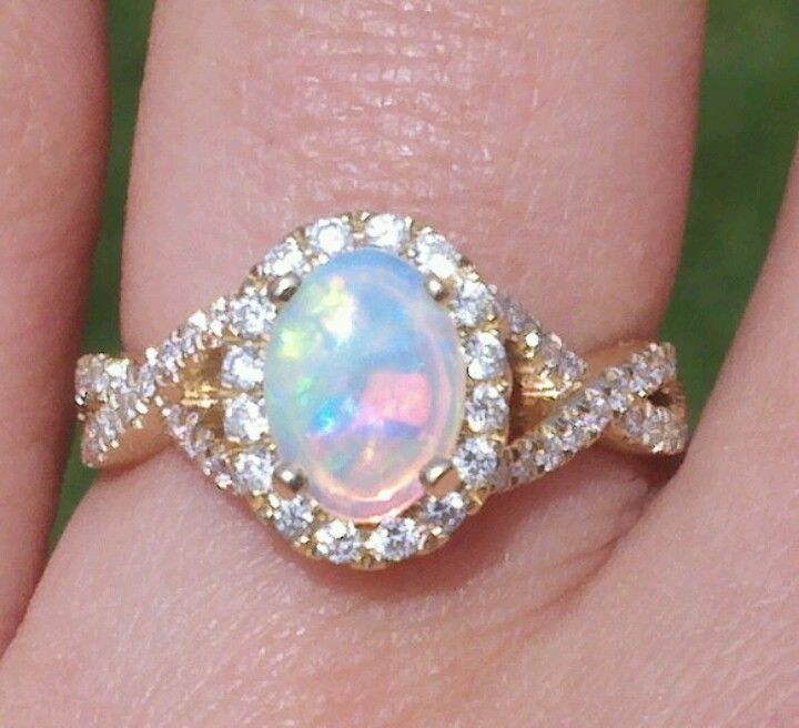 Opal Ring Mind Blowing Ethiopian Opal Gemstone Jewelry 925 Sterling Silver Ring  7 US
