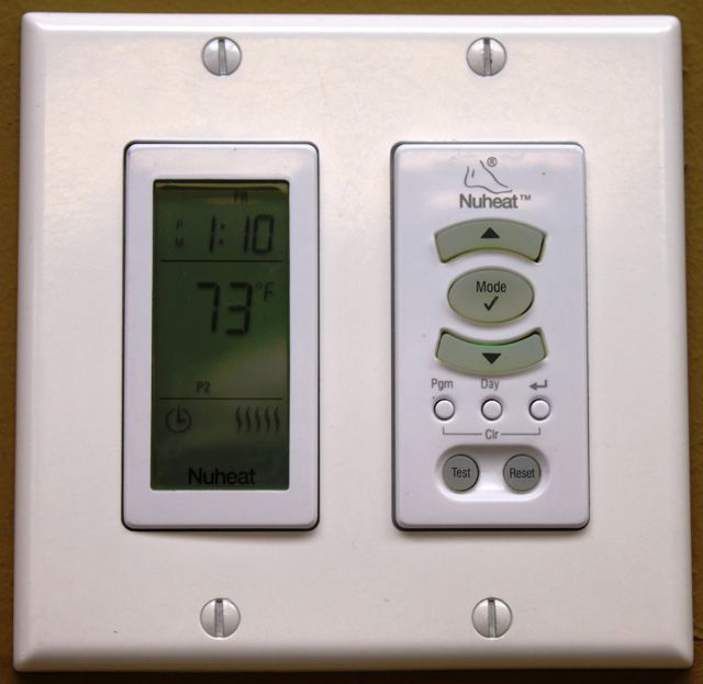 Nuheat Harmony Programmable Thermostat  With Images
