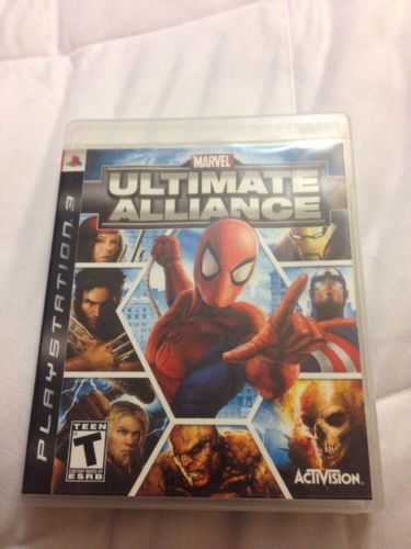 Marvel: Ultimate Alliance (Sony PlayStation 3 2006) Complete! No Reserve! https://t.co/eFNWH4mhFT https://t.co/YGSCNBMpvE