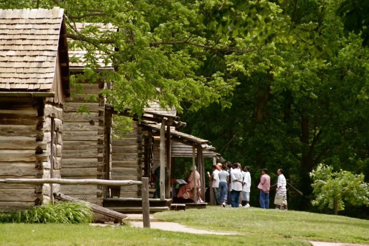 New Salem, Illinois. A Log Cabin Vilage That Gives Amazing Insight To How  Life Was For Young Lincoln And Those Of His Time.