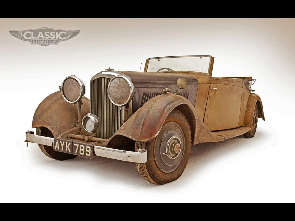 1934 BENTLEY 3 1/2 LITRE by Thrupp for sale | Classic Cars For ...